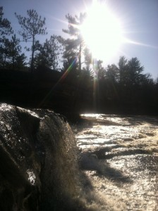 Big Spring Falls, on the Kettle River