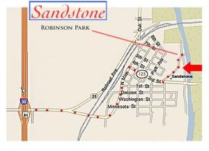 Robinson Park in Sandstone Minnesota