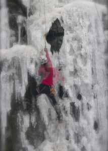 sandstone mn ice climbing