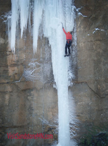 visit sandstone ice climbing