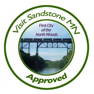 Sandstone visitors board