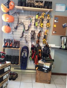 rent ice climbing gear