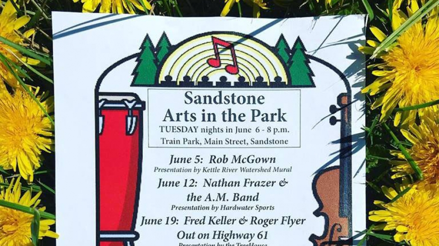 Sandstone MN - Art in the Park