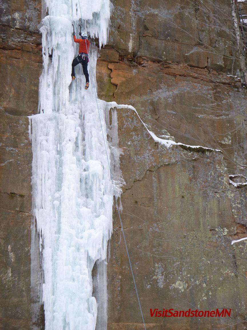 Minnesota Ice Climbing