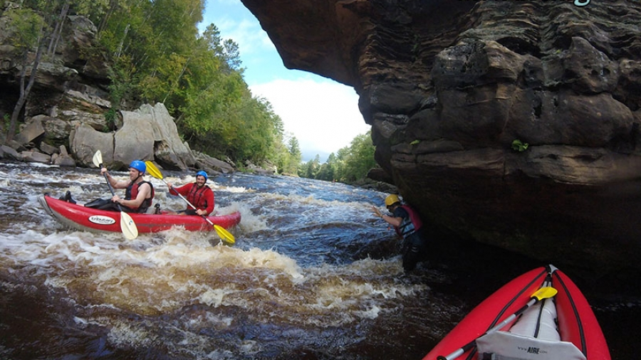 Hell's Gate on the Kettle River.
